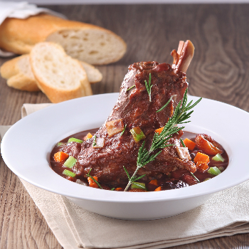 Recipe Aromatic Braised Lamb Shanks